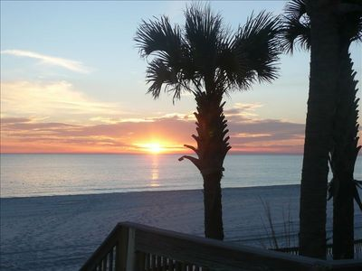 Photo for Beautiful Sunset Views from Private Third Floor Balcony; 7th Night FREE