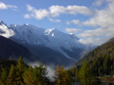 Photo for Sunny Apartment, Glorious Views Of Mont Blanc, Close To Main Skiing Are