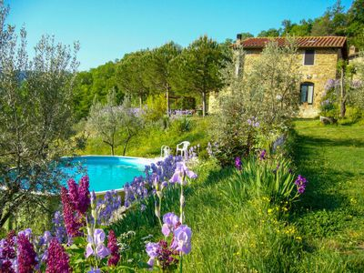 Photo for Vacation home Il Fienile in San Polo in Chianti - 6 persons, 3 bedrooms