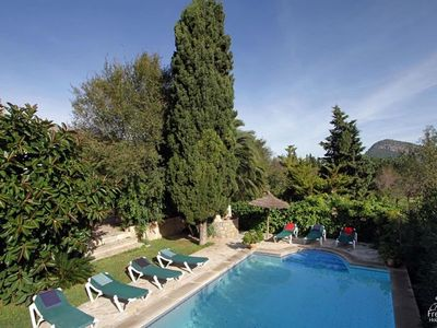 Photo for 6 bedroom Villa, sleeps 12 in Pollença with Pool, Air Con and WiFi