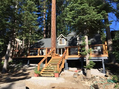 Photo for Classic Lakefront Tahoe Cabin!