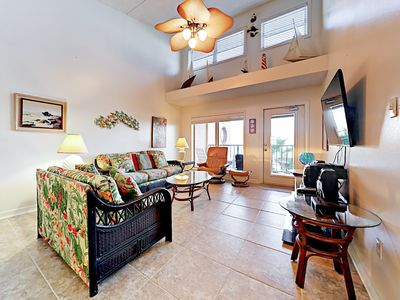 Photo for Beach-View Hideaway at Suntide II w/ Pool & Hot Tub - Steps to  Beach