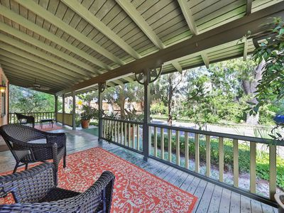 Photo for NEW LISTING! Historic bungalow w/ porch & yard-in heart of Saint Augustine