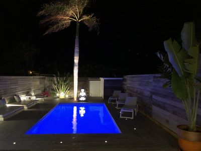 Luxury Creole villa with Private Pool 100 m from the beach great Comfort!