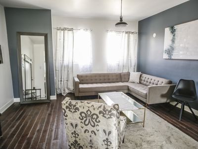 Photo for Sunny 3-Bedroom Downtown 5-minutes from St-Catherine Street