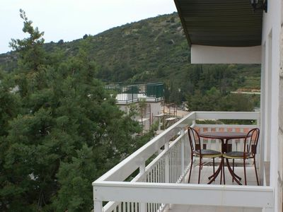 Photo for Studio flat with balcony and sea view Podaca, Makarska (AS-2617-d)