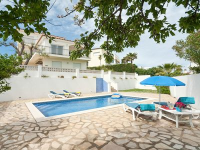 Photo for Villa with sea view in Puig Sec