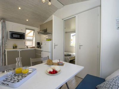 Photo for Camping Le Petit Bois *** - Cozy Mobil Home 3 Rooms 5 People
