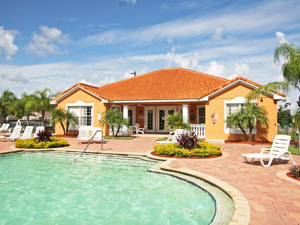 Located Only 6 Miles To Disney Property In Gated Community ...