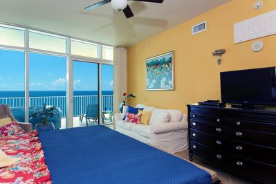 Master Bedroom with views to the Gulf