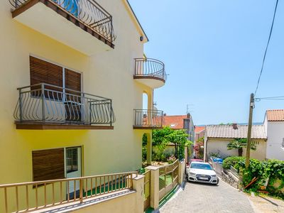 Photo for Two bedroom apartment with balcony and sea view Crikvenica (A-17497-a)