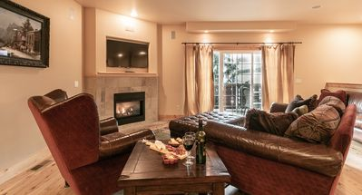 Photo for Downtown Leavenworth Lodge inspired Condo, WiFi, Sat. TV, walk to it all!