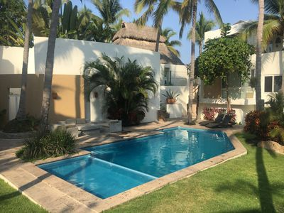Photo for Casa Manantial - Newly updated - Steps from the Beach!