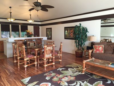 Photo for OCEAN VIEW Kiahuna Plantation 2/2 - Poipu Beach Condo Resort, Pool, Gym