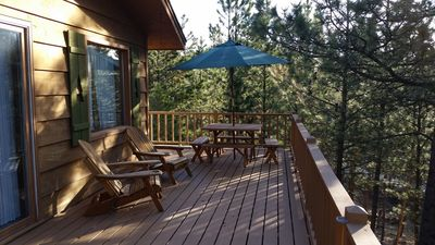 Our Deck In The Morning
