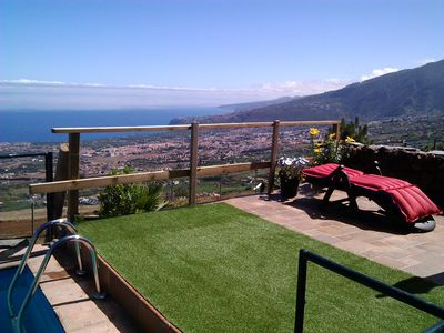 Photo for Rural house with pool, garden and terrace with great views of the Orotava Valley
