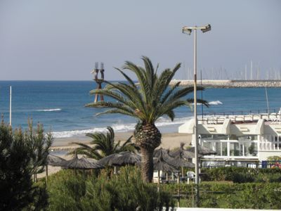 Photo for HOLIDAY FAMILY close to BEACH, in the center of the VILLAGE (Sea and Mountain)