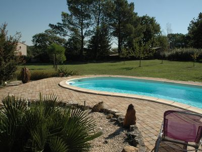 Photo for House near Uzès with pool in a quiet village