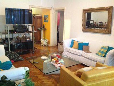 Photo for Large and comfortable apartment in quiet tree-lined street in Copacabana !!!!!