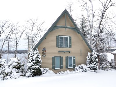 Photo for AAH Chalet- 5 bedroom lakefront home in central Deep Creek Lake
