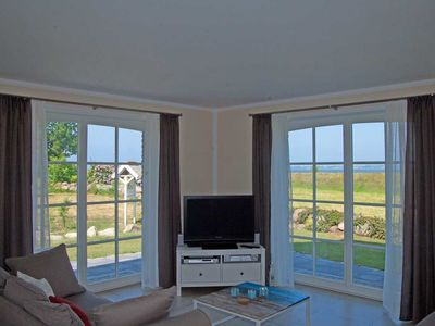 Photo for Appartment Boddenblick - Landhaus Gager (with water view) - Landhaus Gager - 100 m to the water - marina - water view