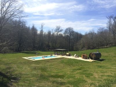 Photo for Mill And Barn For 15 People With Private Lake, Pool, Sauna, Hot Tub, River, Boat