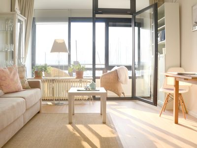 Photo for High-quality apartments, direct sea views, the beach, newly renovated