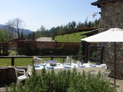 Photo for Lucca - Tuscany - Charming  c17th Tuscan House with Mountain Views - WIFI - Pool