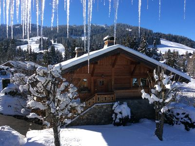 Photo for Megève large chalet near the slopes and golf