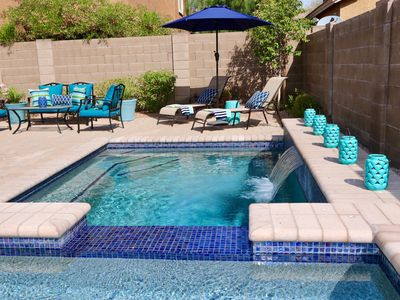 Photo for 4 BR Desert Ridge - PRIVATE HEATED POOL & SPA! North Scottsdale / Phoenix Area