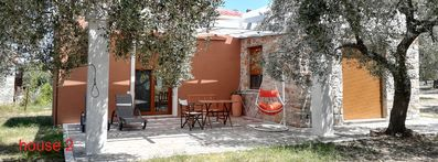 Photo for ELEA 2,  NEW STONE HOUSES, IN AN OLIVE GROVE, QUIET PLACE,  IN THASSOS