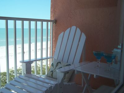 Your own Private Balcony gives you two ways to enjoy Gulf views!