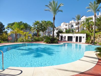 Photo for Spacious 3 Bedroom Apartment in Beautiful Golf Resort. with Large Communal Pool
