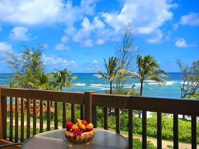 Photo for Kaha Lani Penthouse Oceanfront 1BR/1.5BA with 2 Private Lanais