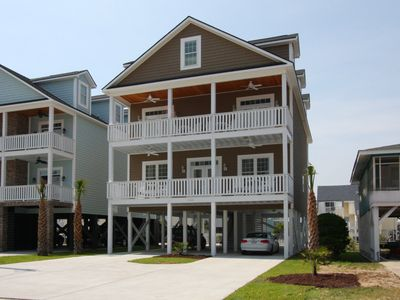 Photo for A spacious 6-bedroom North Myrtle Beach home with a game room & private pool
