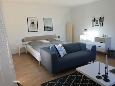 Photo for Bright and cozy 1.5 room apartment in Overath