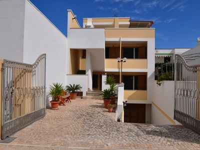 Photo for Comfortable Leuca Air-conditioned studio apartment 100 m from the coast.