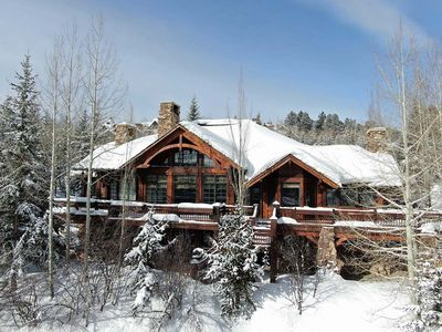 Photo for Bachelor Gulch, 100 Yards to Ski Run, Outdoor Hot Tub & Fire Pit, Mt Views