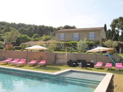 Photo for Mas Carla - Luxury home located in the typical Provençal town of Noves (Bouches-du-Rhône).