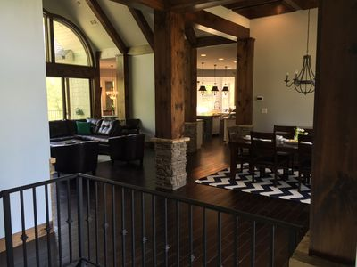 Living Room/Lodge Room and Dinning Area