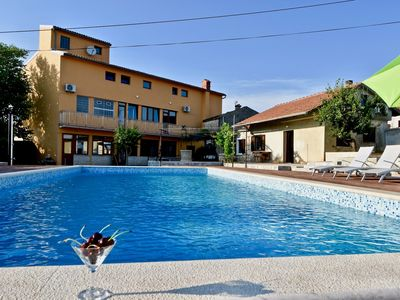 Photo for Charming apartments with the pool / Holiday apartment with the pool A2