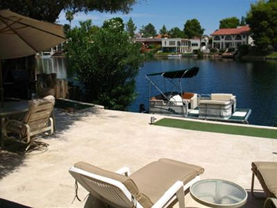 Photo for Beautiful Tempe Waterfront Villa with Many Extras