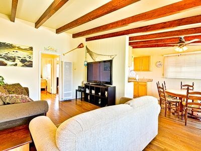 Photo for 25% OFF SEP - Fantastic Home, Steps to Beach & Bay w/ BBQ + Deck
