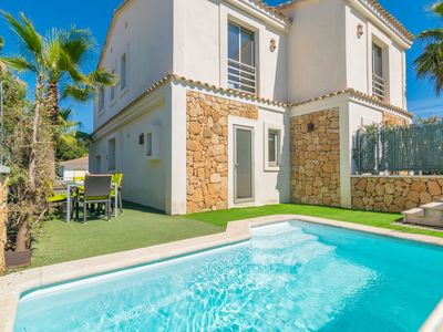 Photo for BAHAMAS 2 - Villa with private pool in Son Serra de Marina.