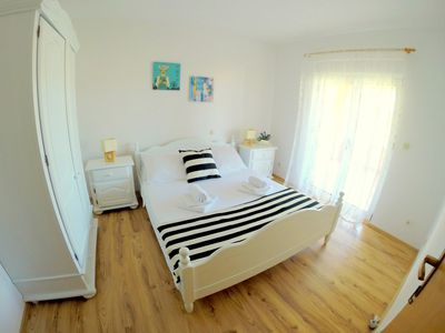 Photo for LUXURY AND COMFORTABLE APARTMENT, 30 m from the beach with place for a BOAT