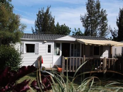 Photo for Camping La Bergerie Plage **** - 4 room mobile home 8 people