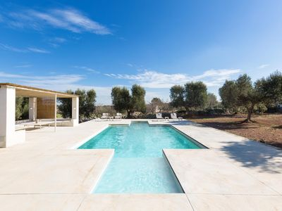 Photo for Marvelous villa with swimming pool immersed among olive trees Carovigno Apulia