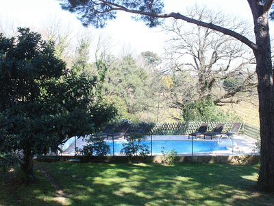 Photo for PARASOL PIN FOR 4/6 - HEATED BBQ POOL WIFI - GULF OF ST-TROPEZ