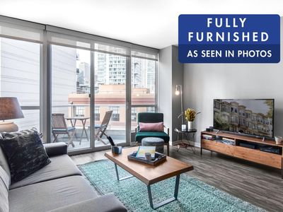 Photo for Spacious Rincon Hill 1BR w/ Gym, Balcony + Hot tub by Blueground