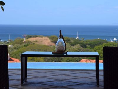 Photo for Ocean View Single Story House with Private Infinity Pool.  10 min walk to Beach
